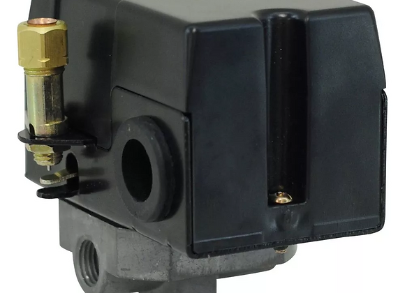 Pressostato 100/140PSI com Válvula, Chave e Manifold 4 Vias