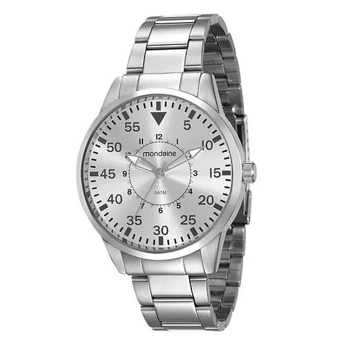 Relógio Masculino Aço prata