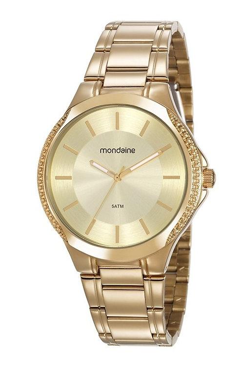 Relógio Feminino Clássico Dourado