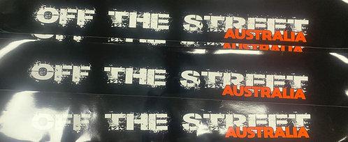 Window Banner - Off The Street Australia