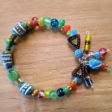 Baja Sunst Memory Wire Bracelet