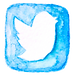 blue-watercolor-twitter-icon