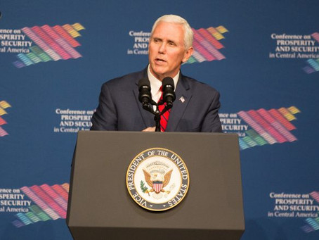 Pence: U.S. is with Northern Triangle