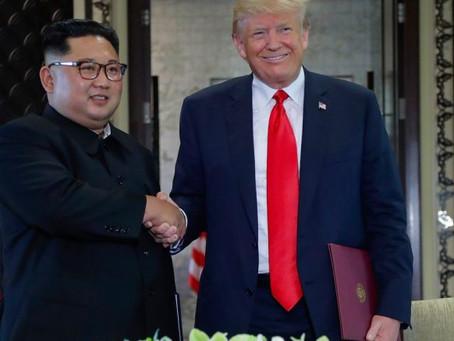 Trump-Kim make denuclearization agreement following historical summit