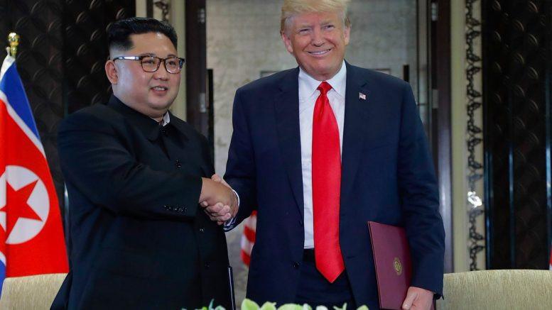 President Donald Trump met Kim Jong Un, the leader of North Korea, on Tuesday, June 12.