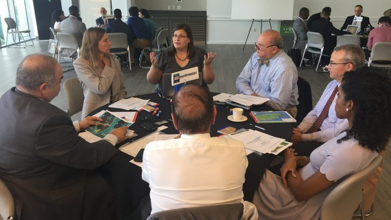 """Inconsistent communication and lack of awareness are just some of the reasons why Florida is in a """"existential crisis"""" over climate change, according to environmental influencers who attended the first day of the Florida Priorities Summit at the University of Miami on Tuesday."""