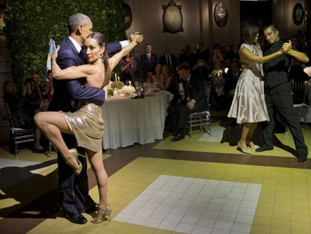 President Obama chooses Tango over Brussels