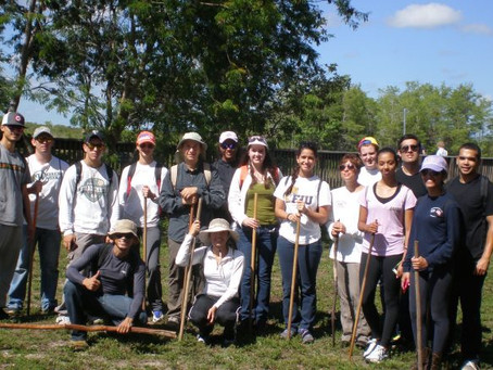 Take a walk in the wild with FIU 'Ecology of South Florida' class