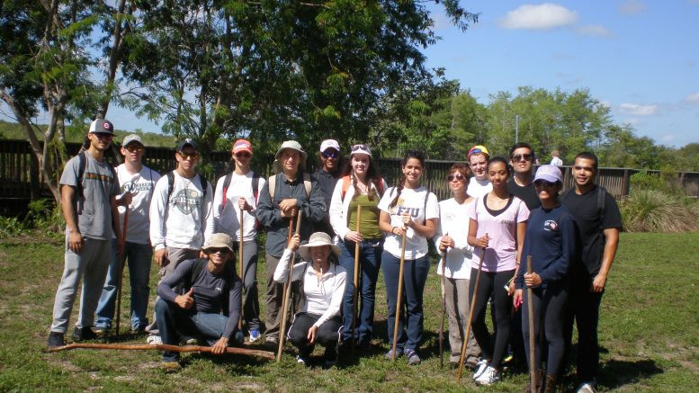 My Ecology of South Florida class went to the Everglades to do a SwampWalk.