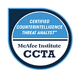 Certified Counter-Intelligence Threat Analyst