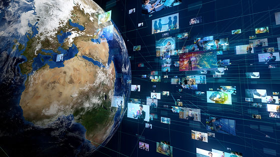 Global communication network concept..jp