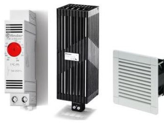 Solutions for Control Panel Temperature Regulation from Finder.
