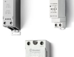 Solid State Relays to 50A in Three Package Styles
