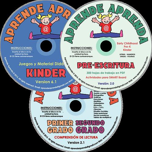 Aprende Aprenda De Lujo CDs - Español