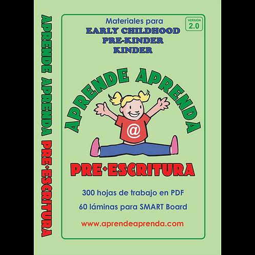 Aprende Aprenda Pre-Escritura DESCARGA DIGITAL - Español