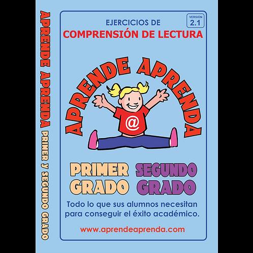 Aprende Aprenda Primer Y Segundo Grado DESCARGA DIGITAL - Español