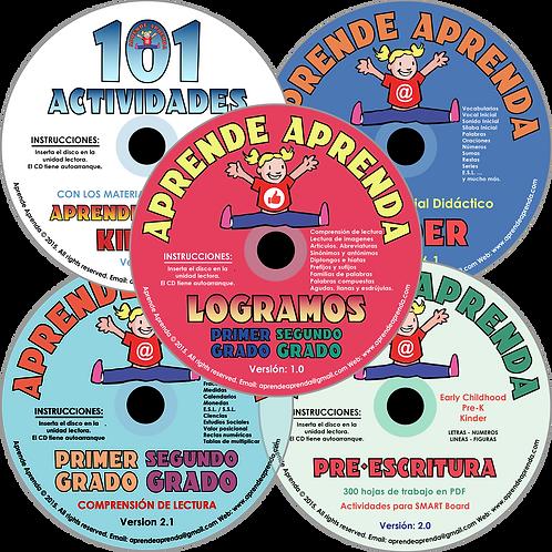 Set De CD Mágico - Español
