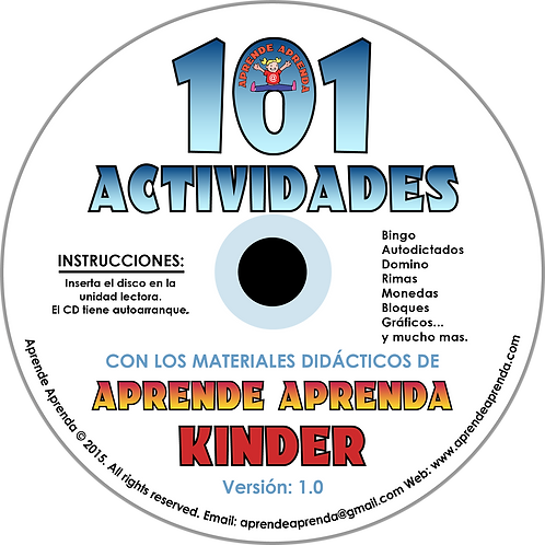 Aprende Aprenda 101 Actividades CD - Español
