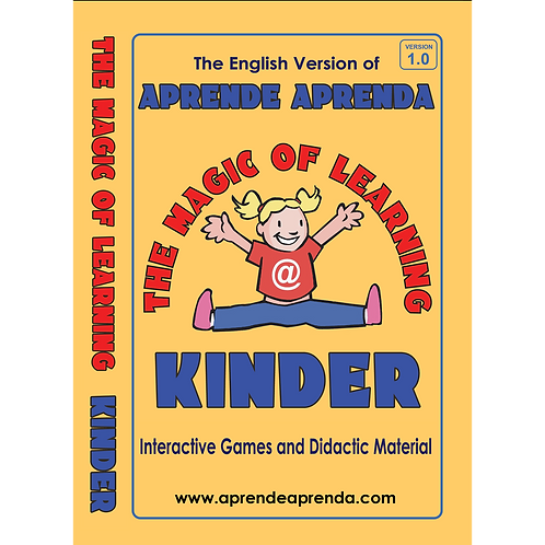 Aprende Aprenda Kinder DIGITAL DOWNLOAD - English