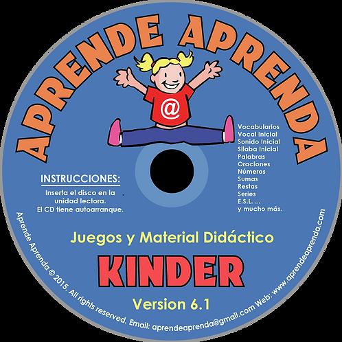 Aprende Aprenda Kinder CD - Español