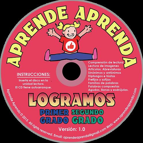 Aprende Aprenda Logramos Primer Y Segundo Grado CD - Español