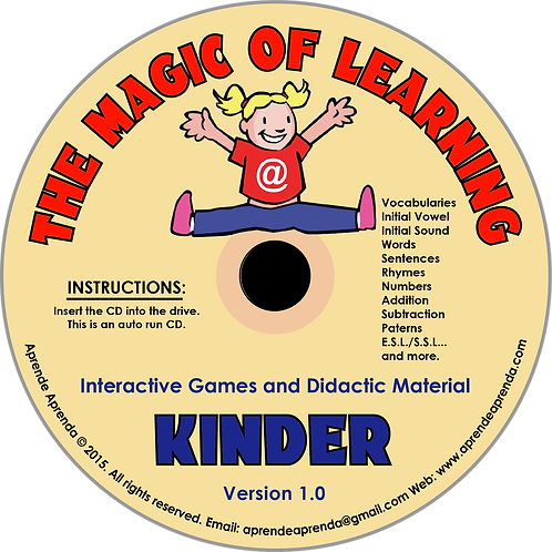 Aprende Aprenda Kinder CD - English