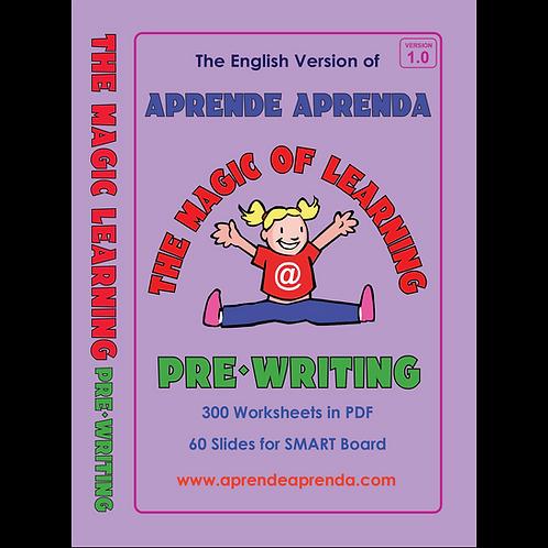Aprende Aprenda Pre-Writing DIGITAL DOWNLOAD - English