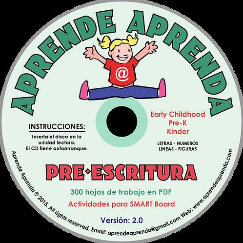Aprende Aprenda Pre-Escritura CD - Español