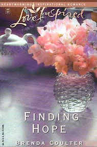 FINDING HOPE, a Christian romance novel from author Brenda Coulter.