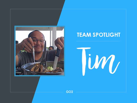 Team Spotlight: Tim