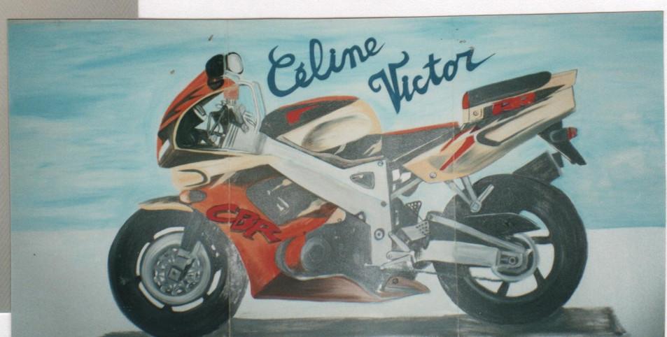 moto mariage Céline et Victor