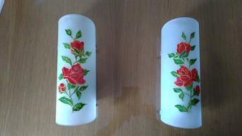 appliques roses rouges