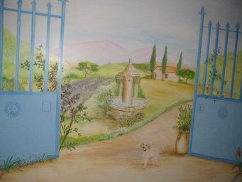 peinture murale  Angoulême