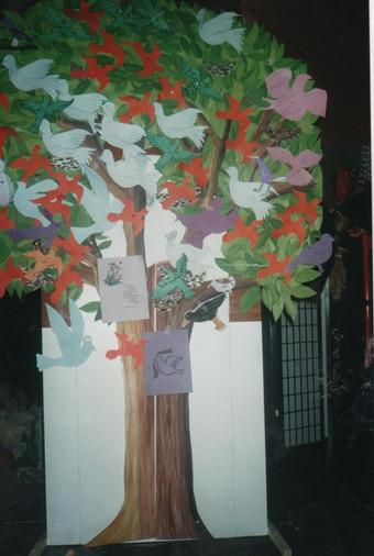 arbre colombes 2.50m