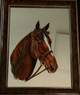 cheval peint sur mioir.jpg