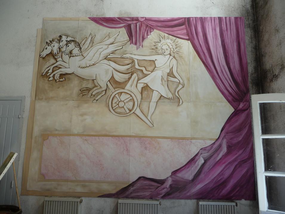 décor peint 3m x 3.60m