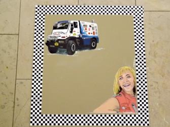 miroir décor Lili racing