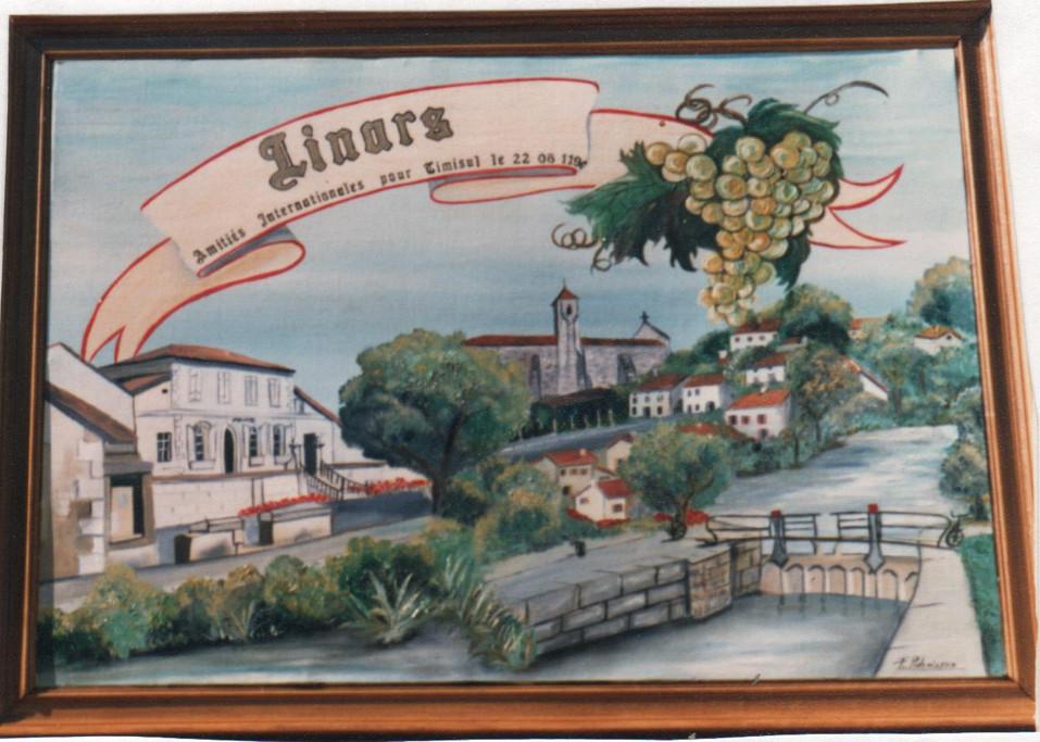 1990 Linars pour jumelage