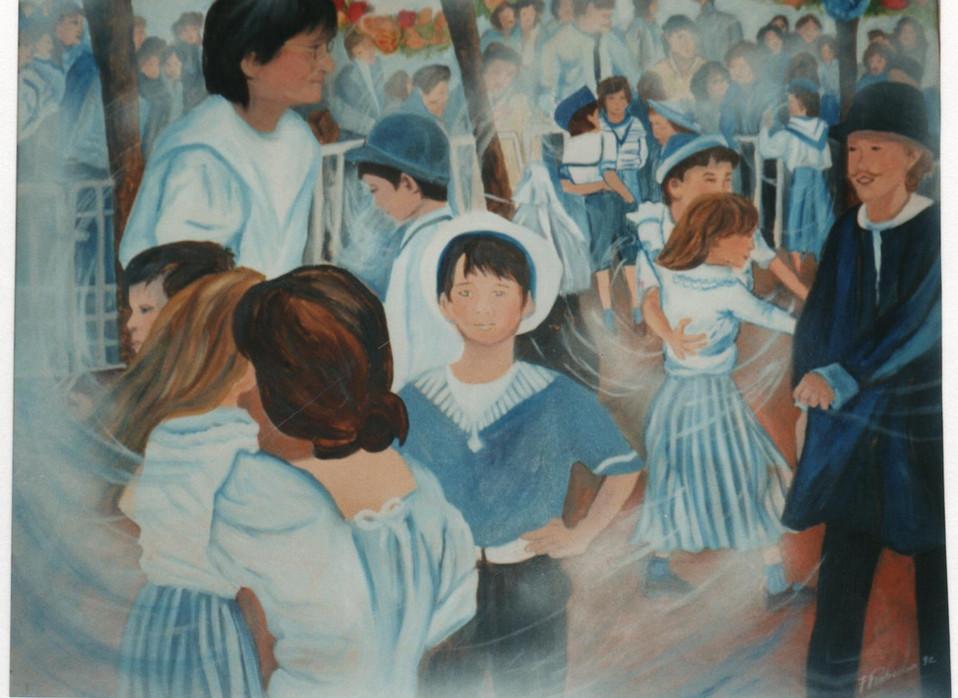 1992 fête de l'école