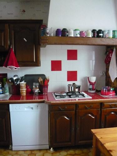 meubles cuisine avant