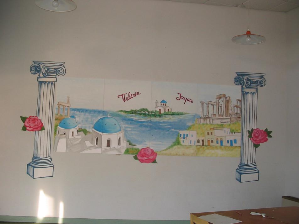 décor thème la Grèce
