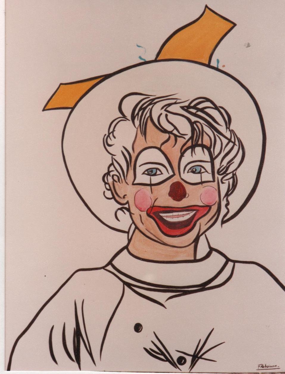 1990 Yann clown