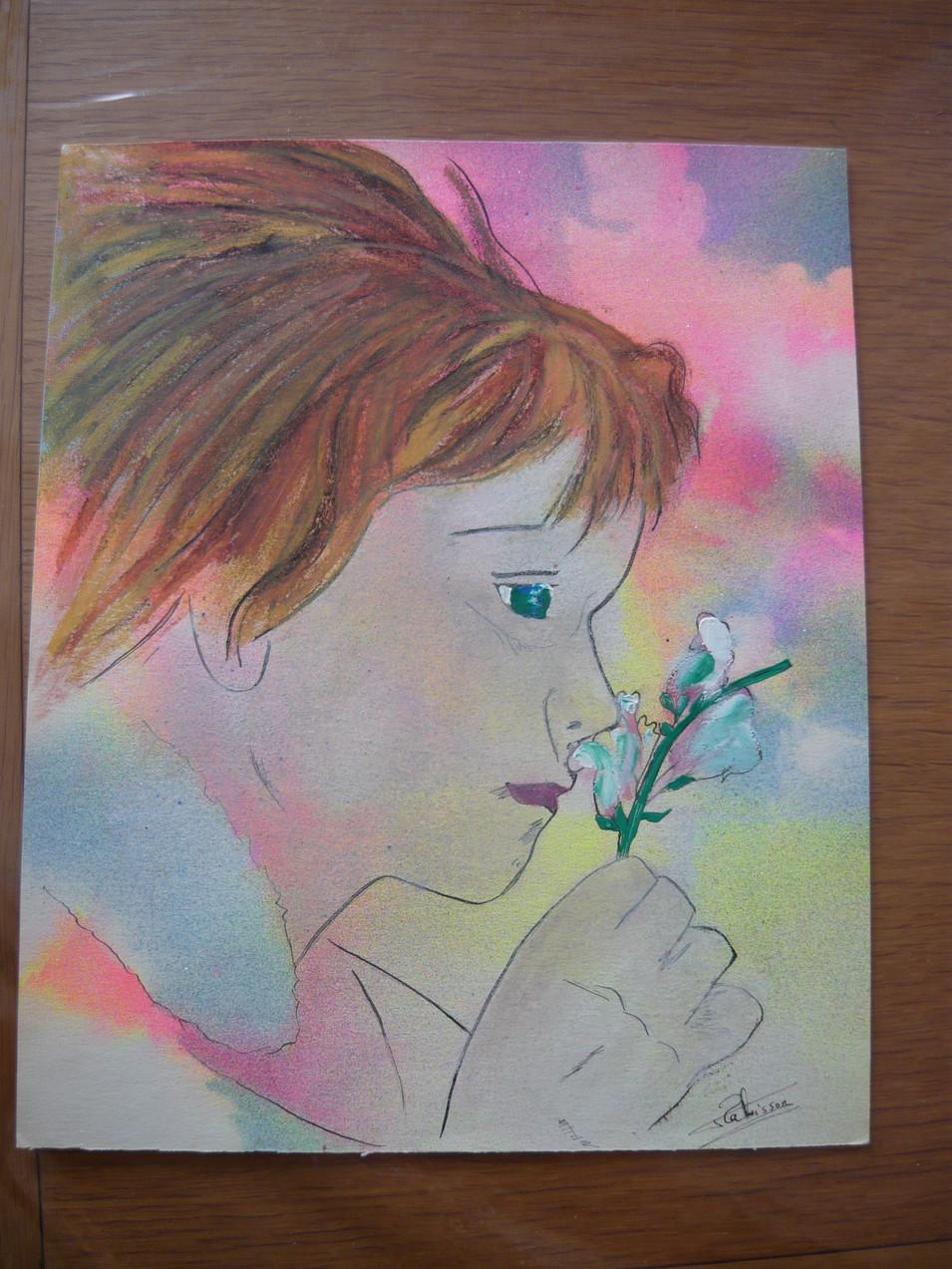 rêve sur parfum de fleur