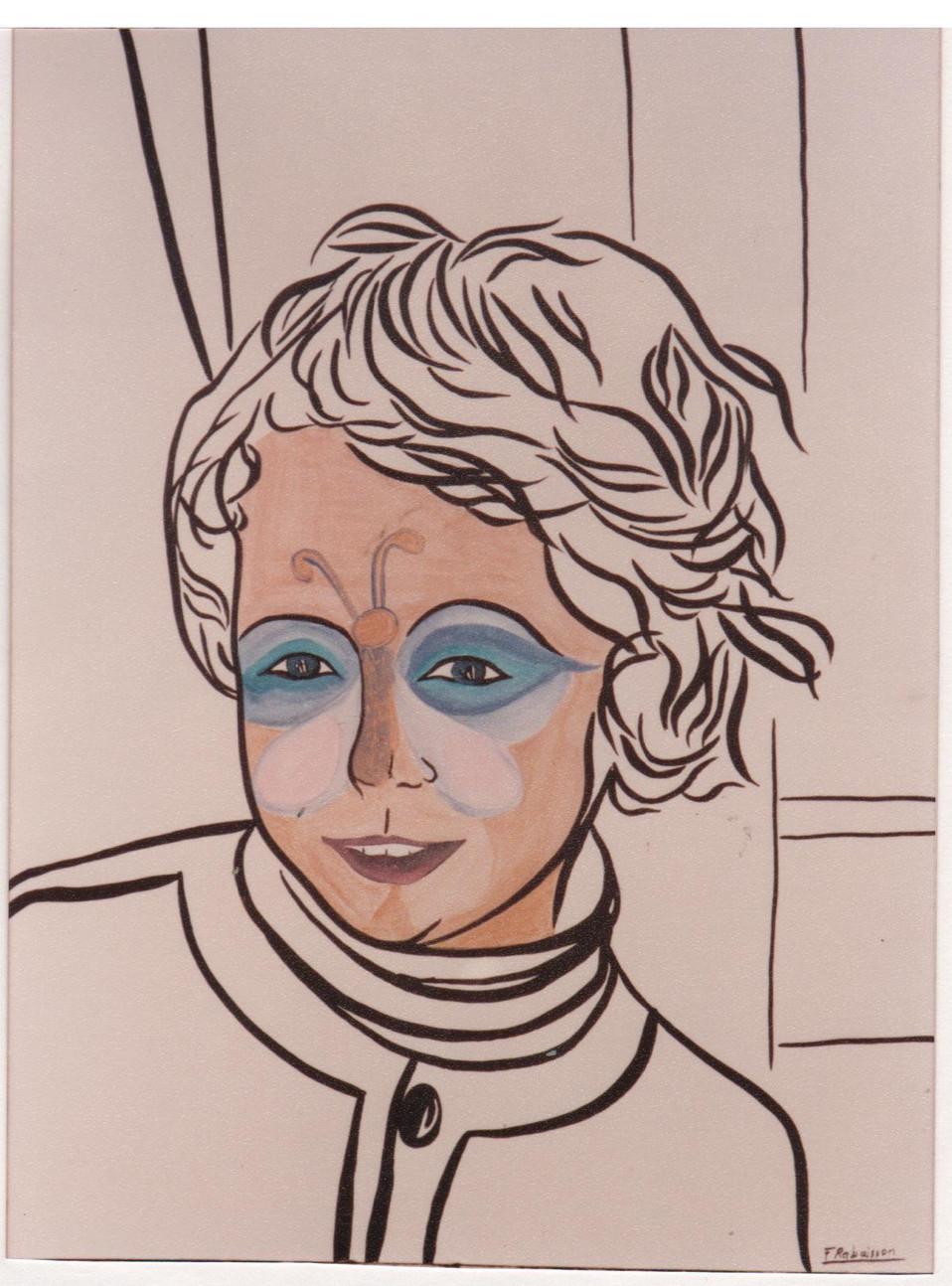 1990 Xavier papillon
