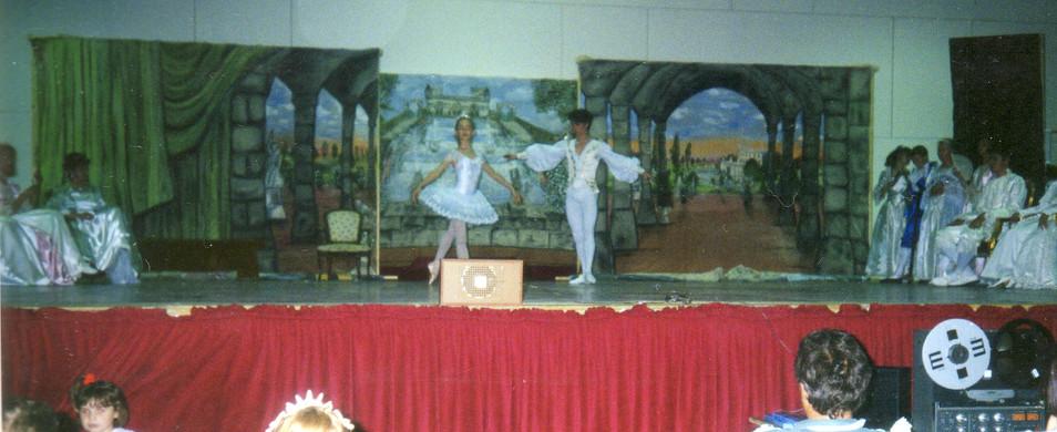 toile peinte décor chateau