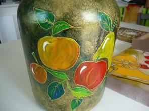 fruits sur verre