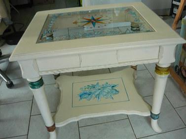 petite table thème marin