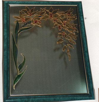 miroir_orchidée