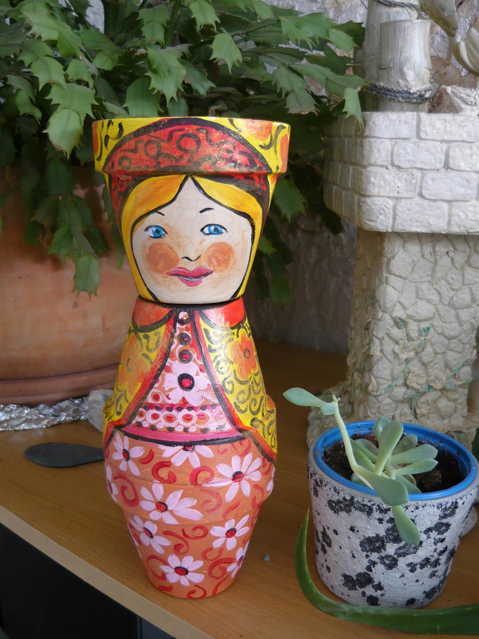 pots poupée russe