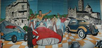 peinture murale centre_auto_E.Leclerc_Angoulême.